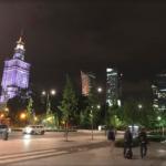 Noční Varšava..